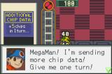 Mega Man Battle Network Game Boy Advance For the cost of one turn, you can get more chips sent to Mega Man