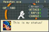 Mega Man Battle Network Game Boy Advance Later, you can upgrade Mega Man's stats and power