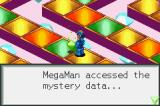 Mega Man Battle Network Game Boy Advance Sometimes, Mystery Data can be found on the Internet