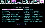Project: Space Station DOS The Help Menu