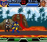 X-Men: Mutant Academy Game Boy Color Wolverine vs. Storm