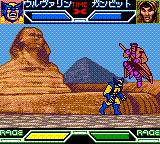 X-Men: Mutant Academy Game Boy Color Wolverine vs. Gambit