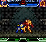X-Men: Mutant Academy Game Boy Color Wolverine vs. Sabretooth