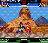 X-Men: Mutant Academy Game Boy Color Wolverine vs. Toad