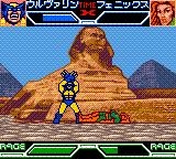 X-Men: Mutant Academy Game Boy Color Wolverine defeats Phoenix