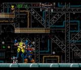 Wolverine: Adamantium Rage SNES Getting hit by some dude