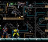 Wolverine: Adamantium Rage SNES Fighting back