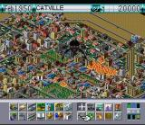 SimCity 2000 SNES A monster attacks