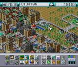 SimCity 2000 SNES Close-up.  That's a library in the center.