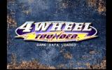 4 Wheel Thunder Dreamcast Title Screen