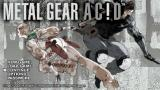 Metal Gear Ac!d PSP Main Menu