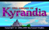The Legend of Kyrandia DOS Title