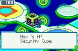 Mega Man Battle Network 4: Red Sun Game Boy Advance Some Internet paths are blocked by security cubes