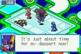 Mega Man Battle Network 4: Red Sun Game Boy Advance Hope you're not looking at me!