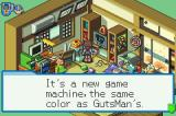 Mega Man Battle Network 4: Red Sun Game Boy Advance Lan's friend, Dex's room.  What a mess!