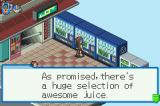 Mega Man Battle Network 4: Red Sun Game Boy Advance Awesome Juice is my favorite juice