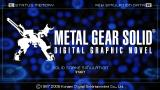 Metal Gear Solid: Digital Graphic Novel PSP Main selection screen