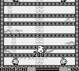 Spanky's Quest Game Boy The baddies climb upward, just like you