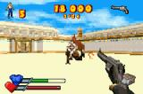 Serious Sam Game Boy Advance This is not the best weapon to use on a Syrian werebull