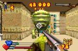 Serious Sam Game Boy Advance A Methug commander up close