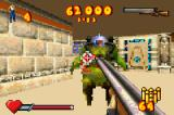 Serious Sam Game Boy Advance Shooting a Methug soldier