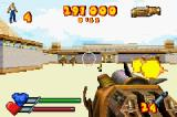 Serious Sam Game Boy Advance The cyclopses aren't so tough once you have the rocket launcher.
