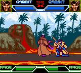 X-Men: Mutant Academy Game Boy Color Gambit mirror match