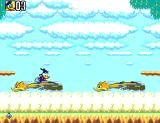 Deep Duck Trouble starring Donald Duck SEGA Master System Watch out for the stampede!  Donald needs to hop from bird to bird to progress