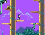 Deep Duck Trouble starring Donald Duck SEGA Master System Donald makes his way through the treetops