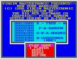 NY Warriors ZX Spectrum Title screen