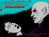 Nosferatu the Vampyre ZX Spectrum Loading screen