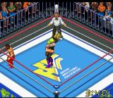 Super Fire Pro Wrestling X Premium SNES Undertaker doing his Tombstone Piledriver