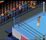 Super Fire Pro Wrestling X Premium SNES High-flying action