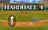HardBall 4 DOS Title screen