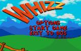 Whizz DOS Title screen