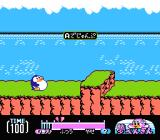 Yume Penguin Monogatari NES The game begins with a short tutorial.