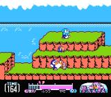 "Yume Penguin Monogatari NES When in ""normal"" weight, you can kick your enemies."