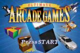 Ultimate Arcade Games Game Boy Advance Title screen
