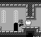 Wario Land II Game Boy This guy is blocking Wario's way...