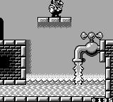 Wario Land II Game Boy Turn off the faucet.