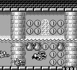 Wario Land II Game Boy Swimming for treasure