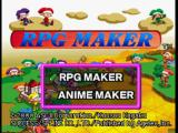 RPG Maker PlayStation Title Screen
