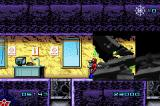 Spider-Man Game Boy Advance Escape the collapsing building.