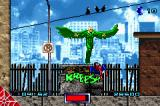 Spider-Man Game Boy Advance Spider-man lands a kick on The Vulture.