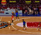 NBA Jam Tournament Edition SNES Scottie Pippen goes for three