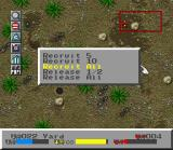 SimAnt: The Electronic Ant Colony SNES Recruiting a group of ants to follow me