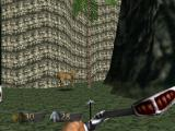 Turok: Dinosaur Hunter Nintendo 64 Many areas have ambient life like this deer.
