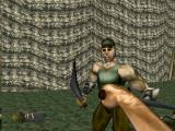 Turok: Dinosaur Hunter Nintendo 64 the knife is a one-hit kill against unarmored humans.