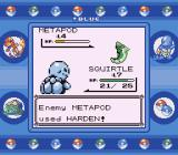 Pokémon Blue Version Game Boy This is basically all Metapod does