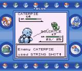 Pokémon Blue Version Game Boy Silly String is a fearsome weapon.